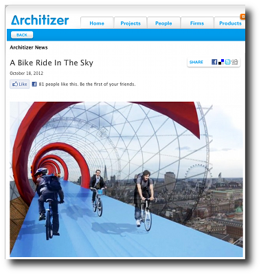 Architizer Blog A Bike Ride In The Sky