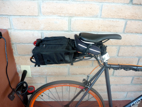 Battery Bag and Saddlebag