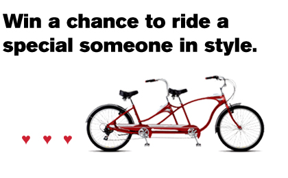 Chrome Win a Schwinn Contest