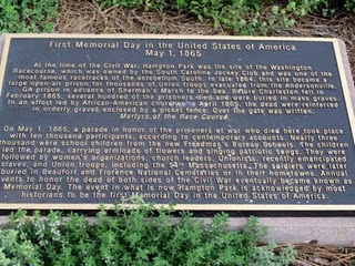 First Memorial Day Marker