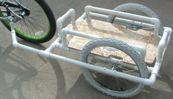 how to build a pvc bike
